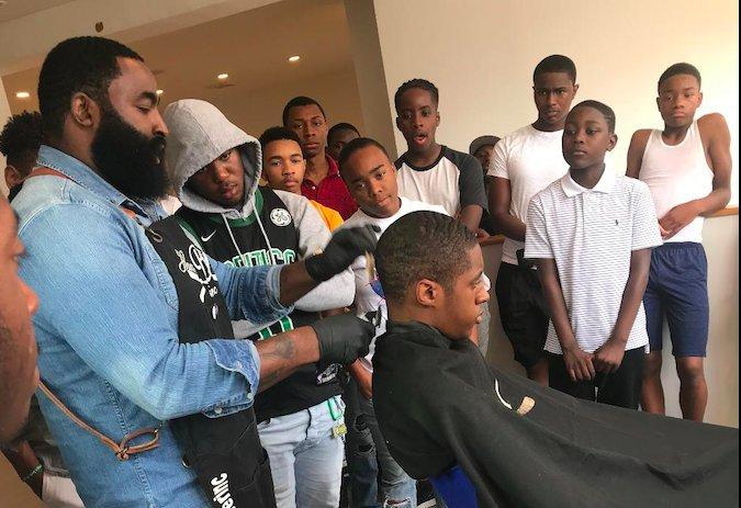 Junior Barber Academy cover