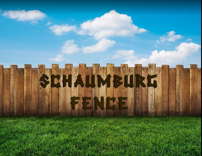 Schaumburg Fence cover