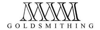 MWM GoldSmithing cover