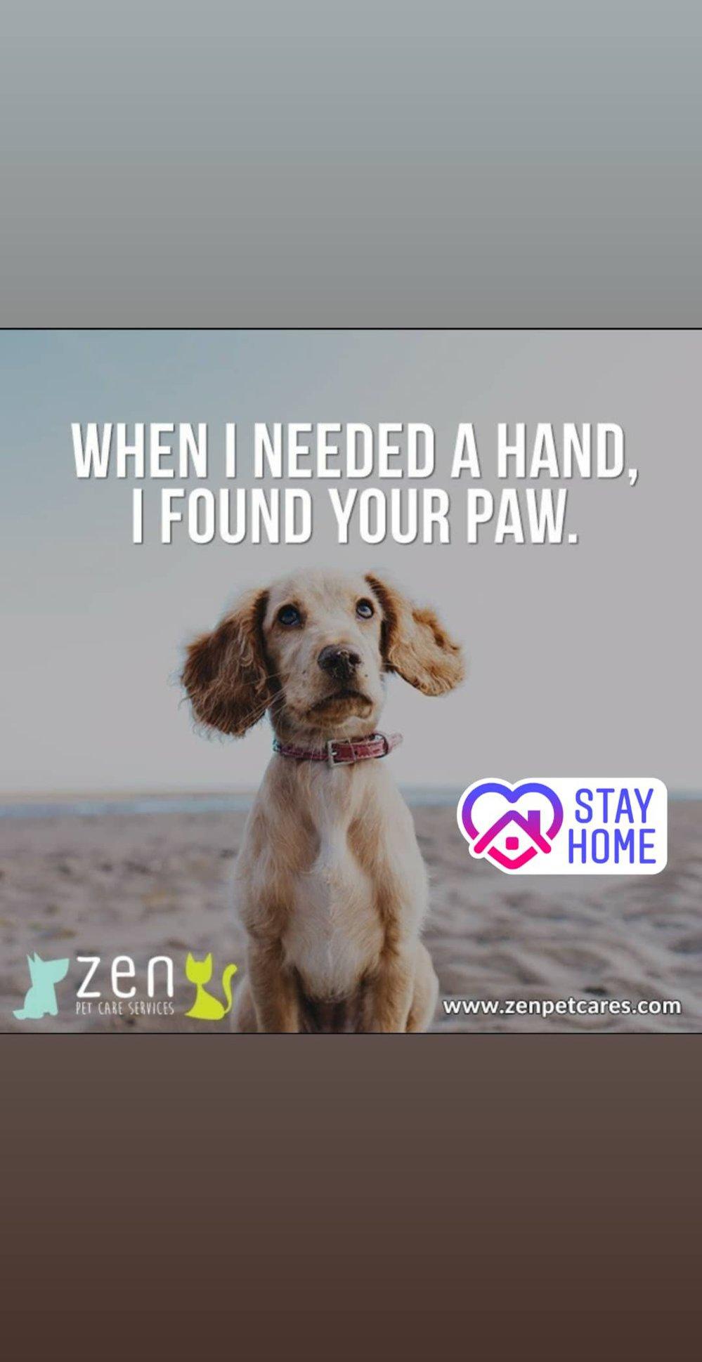 Zen Pet Care Services cover