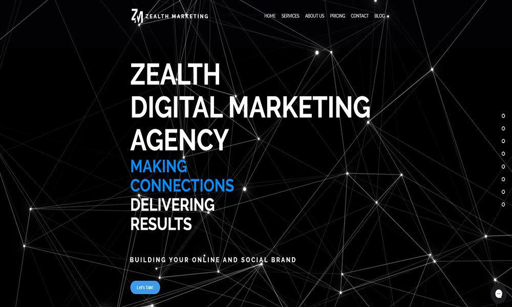 Zealth Digital Marketing Agency Guwahati cover
