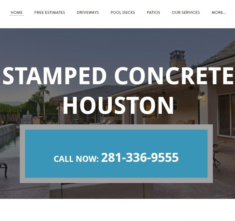 Stamped Concrete Houston cover