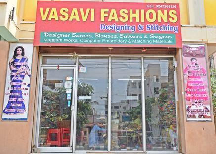 Vasavi Fashions cover