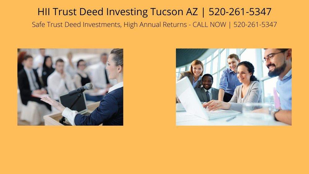 HII Trust Deed Investing Tucson AZ cover