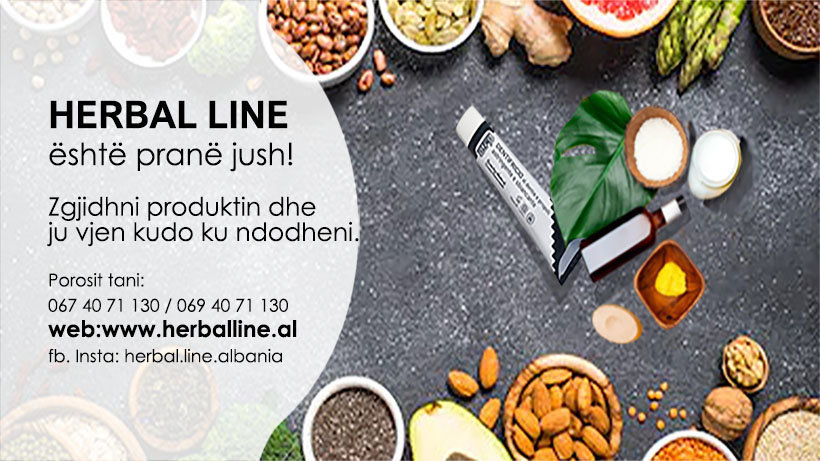 Herbal Line Albania cover