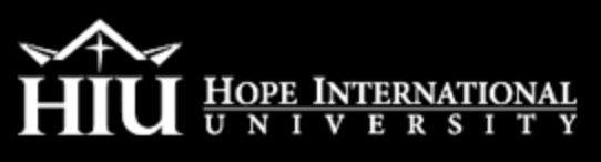 Hope International University cover