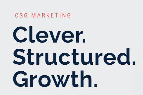 CSG Marketing cover