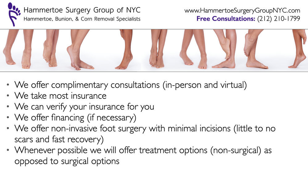 Hammertoe Surgery Group of NYC cover