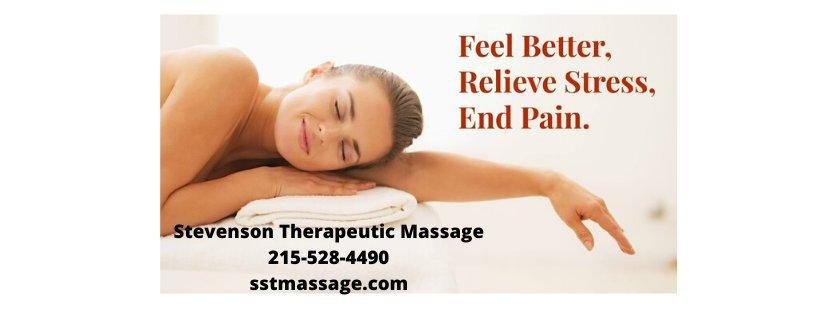 Stevenson Therapeutic Massage cover