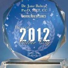 Dr. Jane Bolton, PsyD, LMFT, CC cover