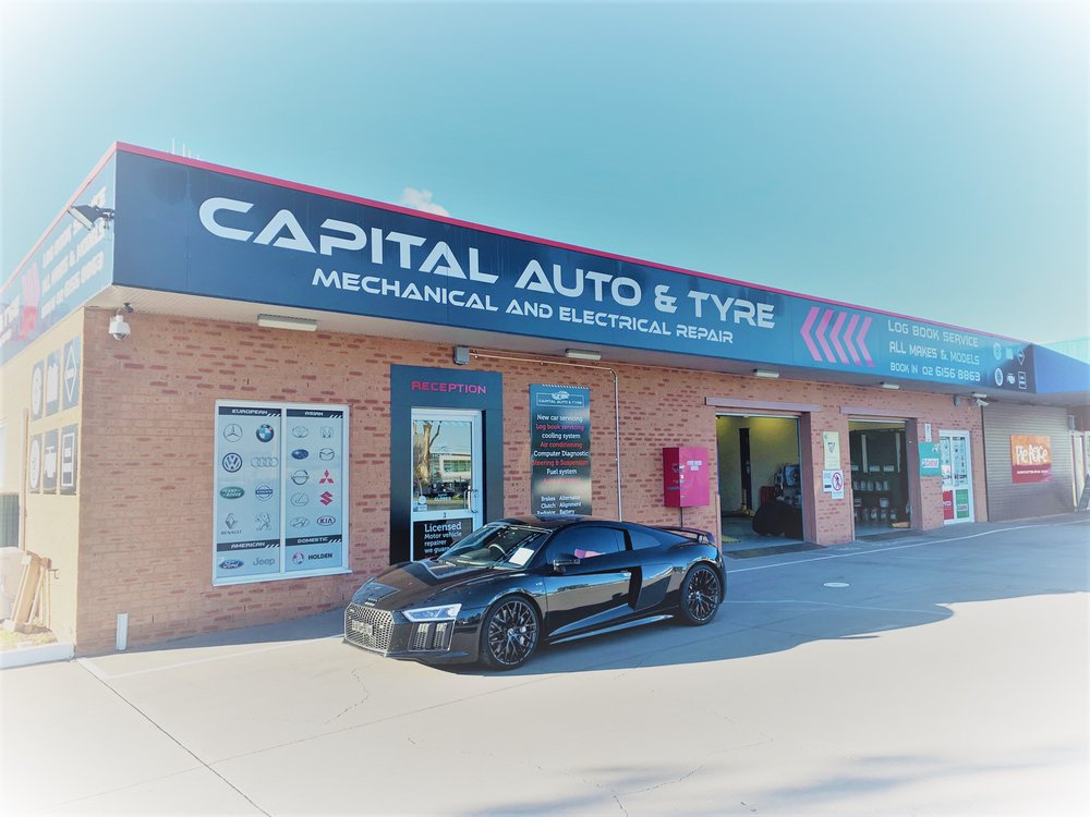 CAPITAL AUTO AND TYRE cover