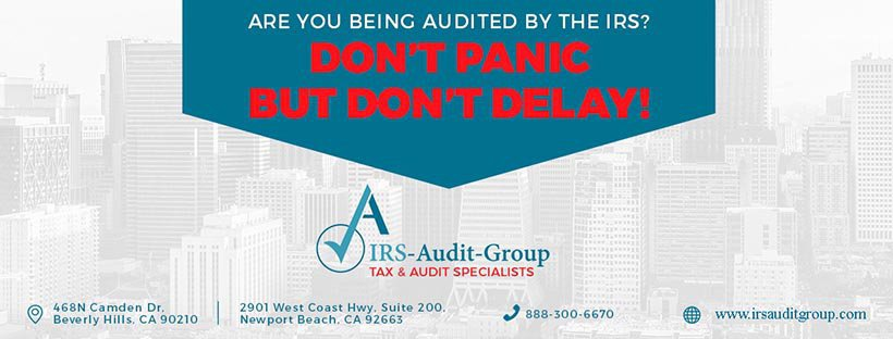 IRS Audit Group cover