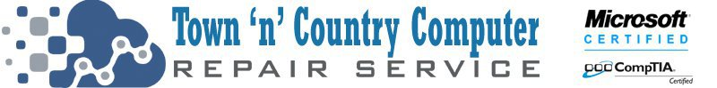 Town 'n' Country Computer Repair Service cover