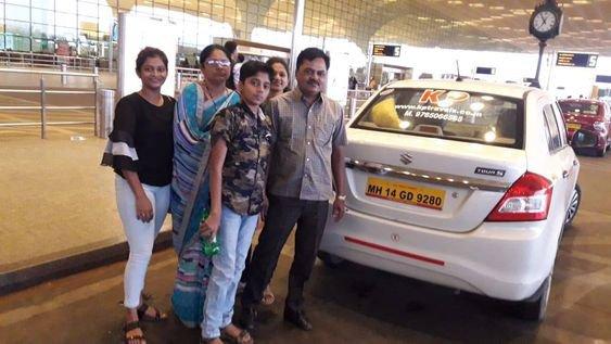 Best Pune to Mumbai Airport cab cover