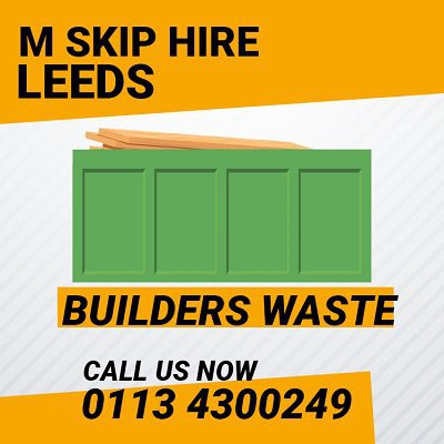 M Skip Hire Leeds cover