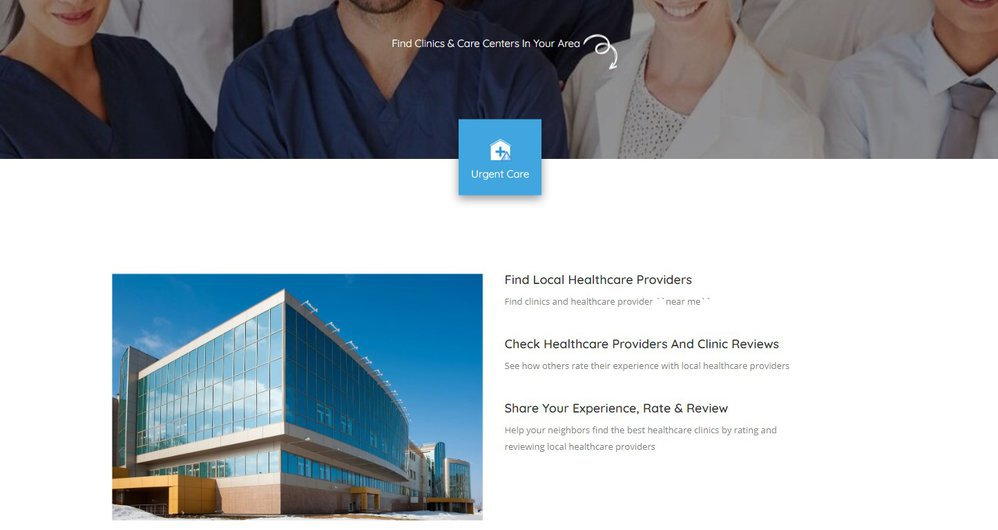 Top Local Clinics cover