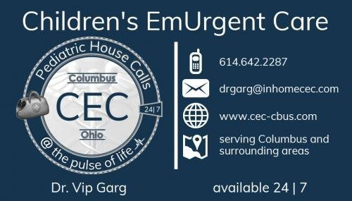 Children's EmUrgent Care; Pediatric House Calls cover