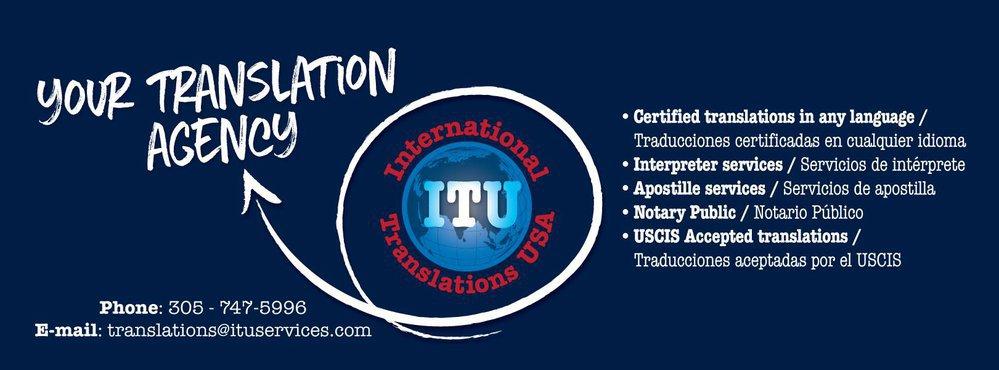 ITU Translation Services cover