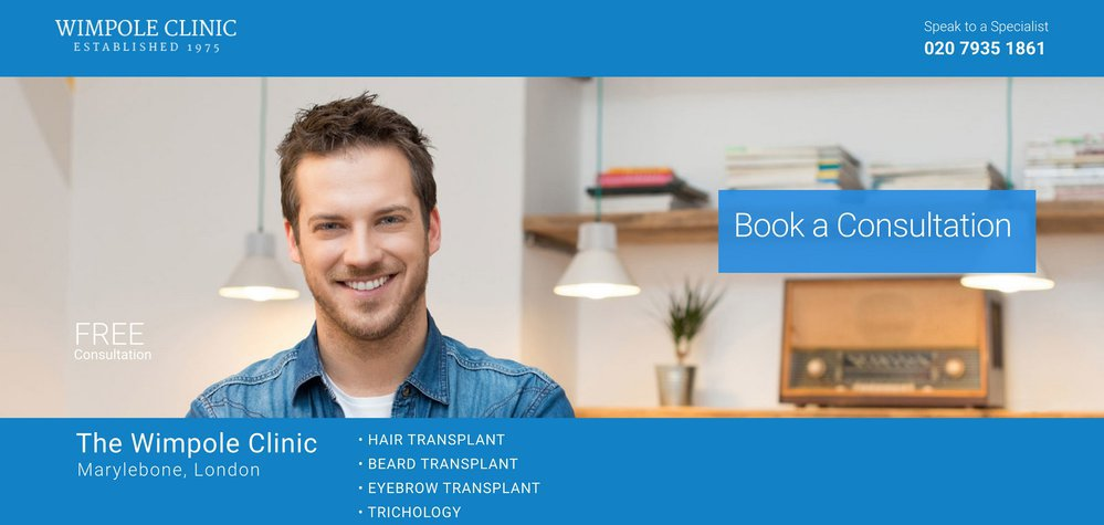 Wimpole Hair Transplant Clinic cover