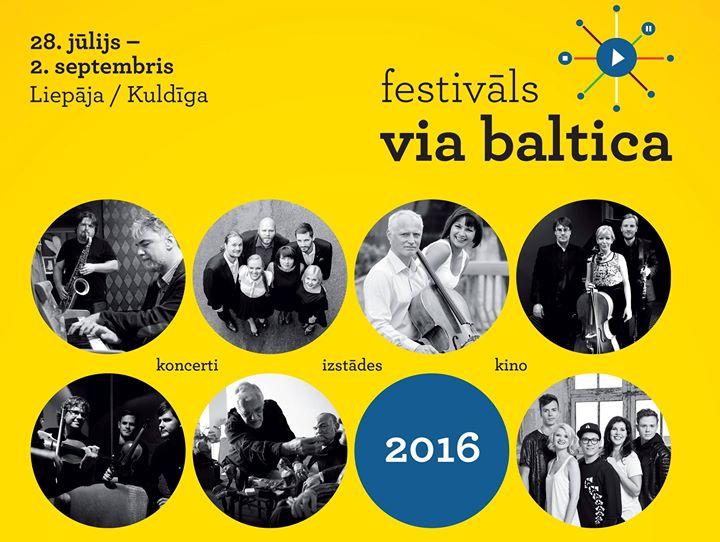 VIA BALTICA - festival cover