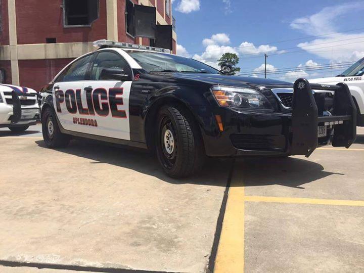 City of Splendora Police Department cover