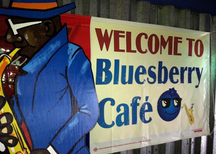 Bluesberry CAFE cover