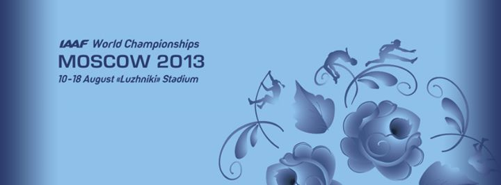 IAAF World Championships Moscow 2013 cover