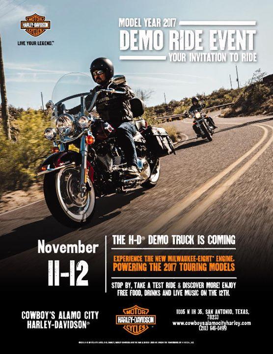 Cowboy's Alamo City Harley-Davidson cover