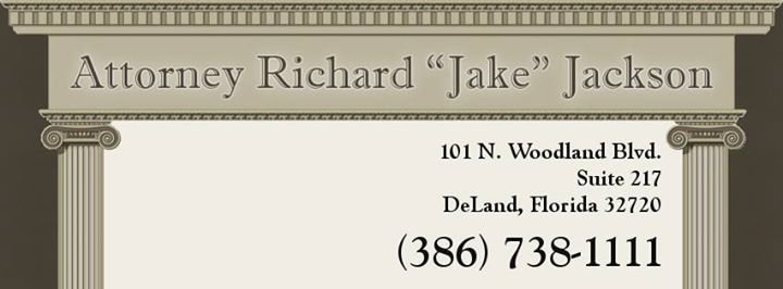 "Attorney Richard ""Jake"" Jackson cover"