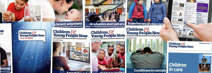 Children & Young People Now cover