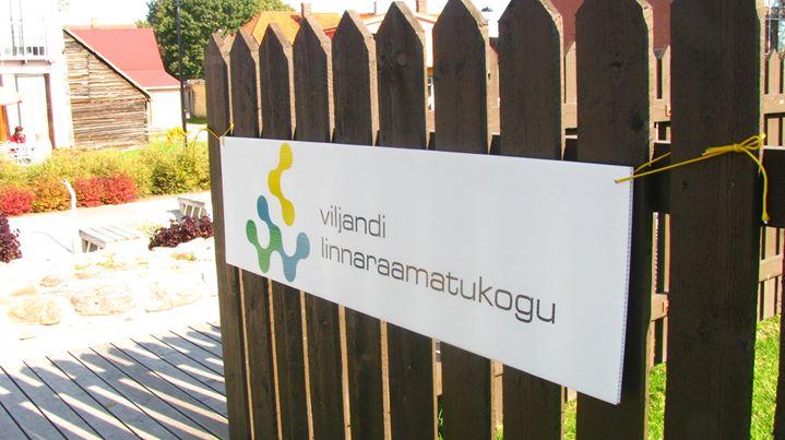 Viljandi Linnaraamatukogu cover