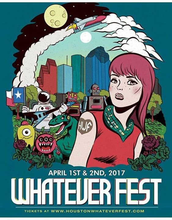 Houston Whatever Fest cover