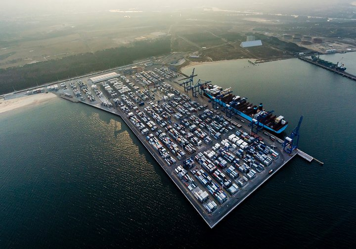 DCT Gdansk - Deepwater Container Terminal cover