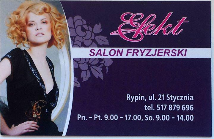 Salon Fryzjerski Efekt Rypin Polska