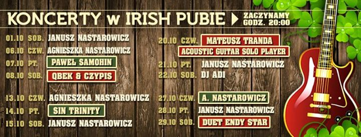 Irish PUB ŁÓDŹ cover