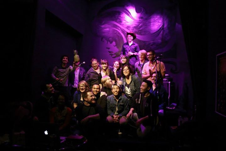 Songwriter Saturdays at the EXIT Theatre cover