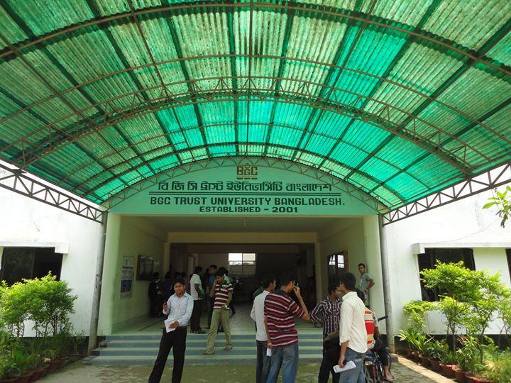 BGC Trust University Bangladesh cover