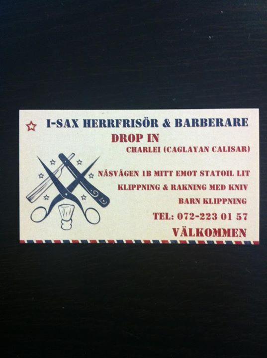 I-Sax Herrfrisör Och Barberare cover