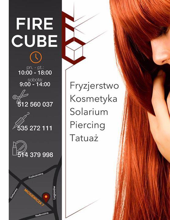 Fire Cube Fryzjerstwo Gorlice Polska