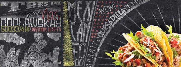Tres Amigos Burrito Bar cover