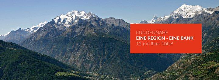 Erlebnisbank - Raiffeisen Mischabel-Matterhorn cover
