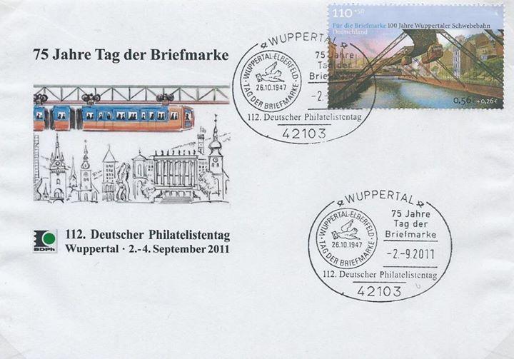 Postwertzeichen Wuppertal e.V. von 1890 cover