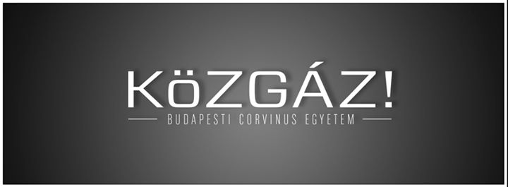 KöZGÁZ! - Budapesti Corvinus Egyetem cover
