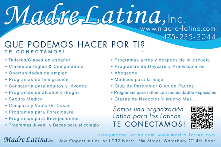 Madre Latina, Inc. cover