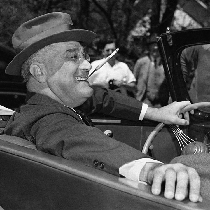 The Franklin Delano Roosevelt Foundation cover
