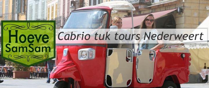 Hoeve SamSam, Cabrio Tuk Tours en Loopfiets Limburg cover