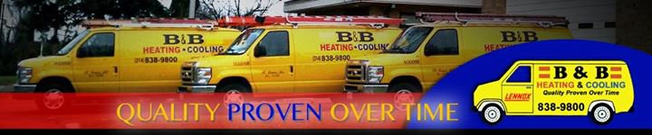 B & B Heating and Cooling cover