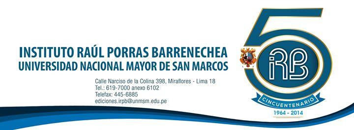 Instituto Raúl Porras Barrenechea cover