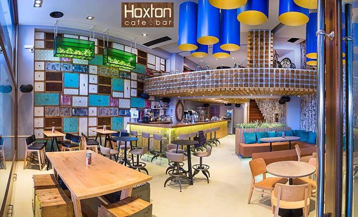 Hoxton Cafe - Bar cover