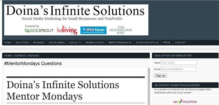 Doina's Infinite Solutions cover